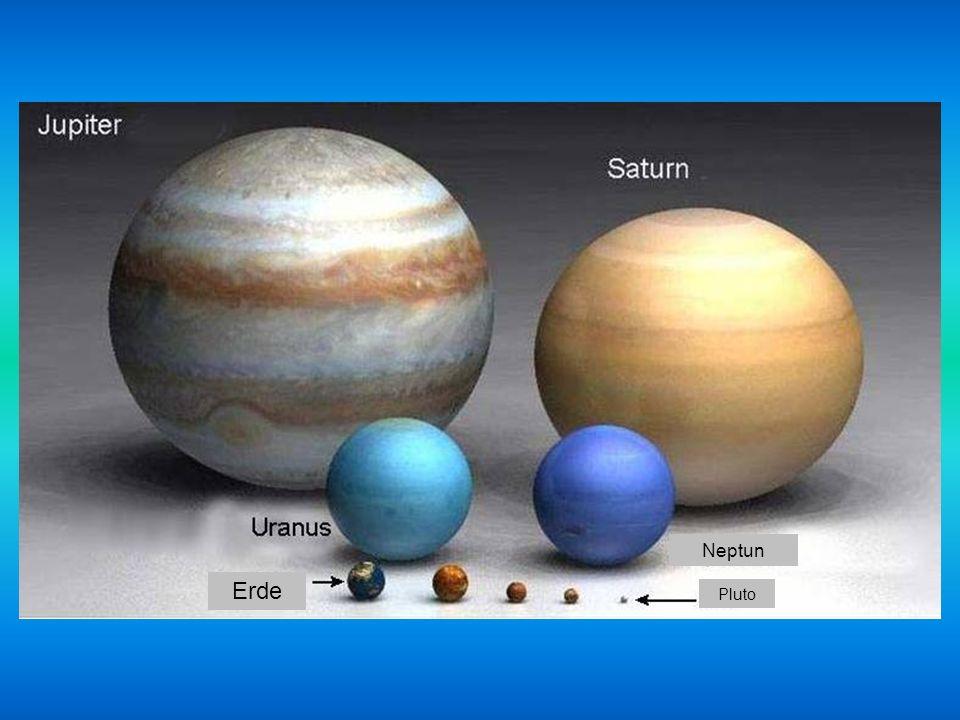 Erde PlutoMarsMerkur Venus