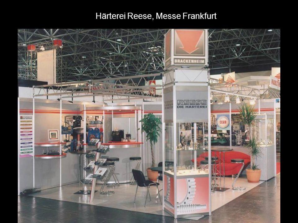 Härterei Reese, Messe Frankfurt
