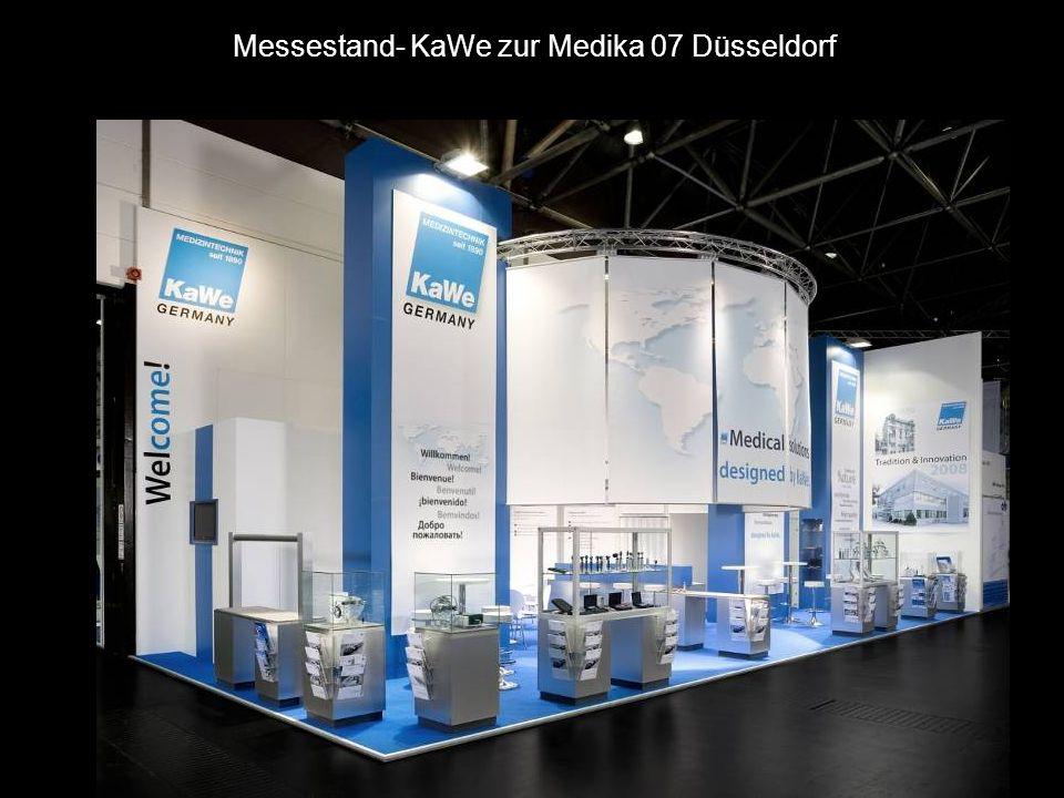 Messestand- KaWe zur Medika 07 Düsseldorf