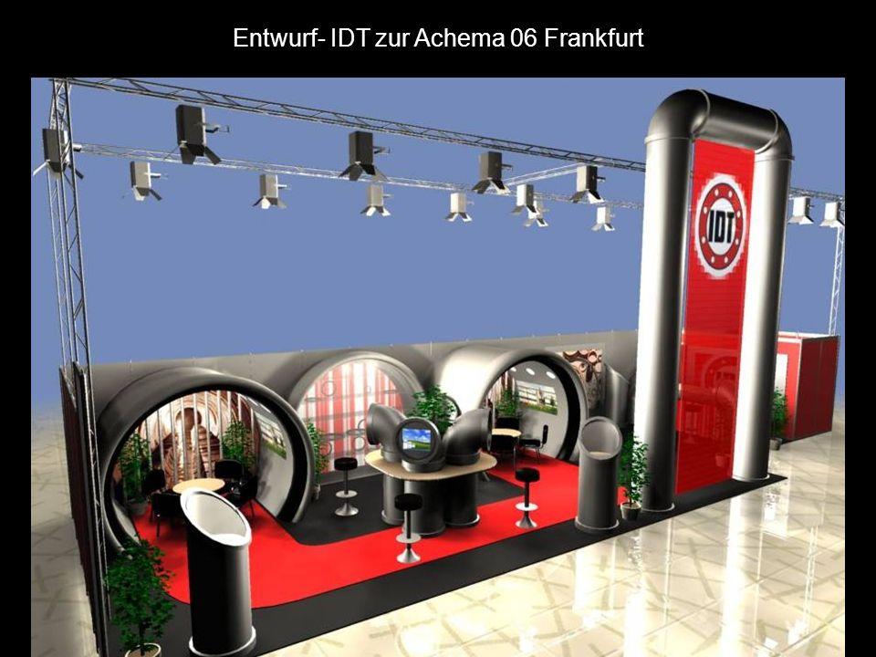 Entwurf- IDT zur Achema 06 Frankfurt
