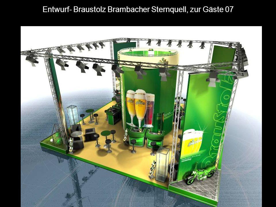 Messestand- Braustolz Brambacher Sternquell, zur Gäste 07