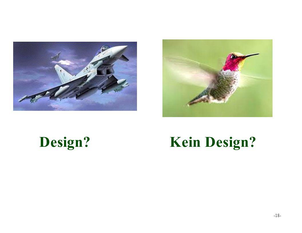 Design?Kein Design? -18-