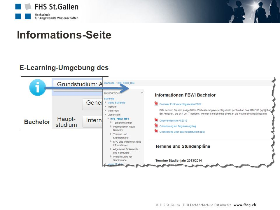 Informations-Seite