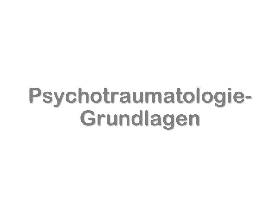 Psychotraumatologie-Grundlagen