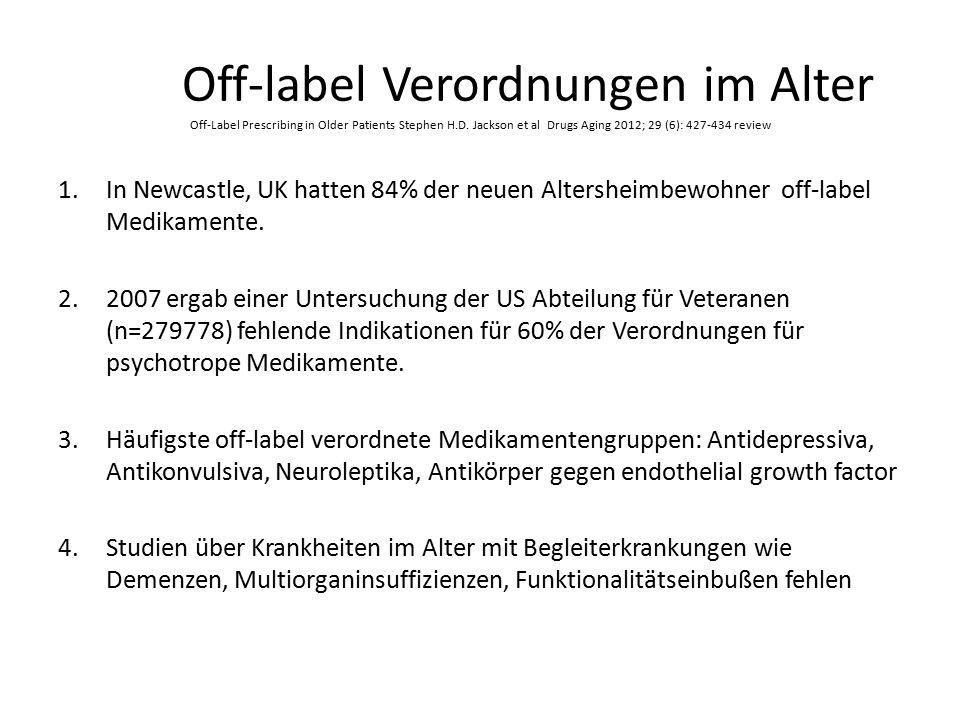 Nebenwirkungen in steigender Dosis Metaanalyse 354 Studien, 39.879 Patienten, Law MR, BMJ 2003 Dovjak Gmunden