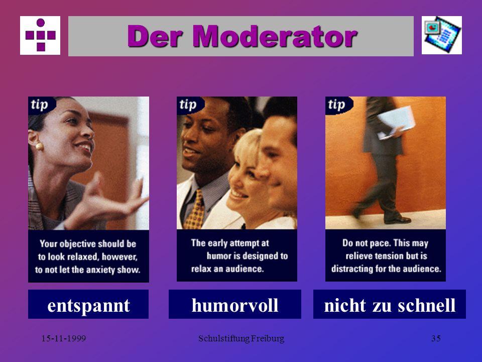 15-11-1999Schulstiftung Freiburg34 Der Schluß Der Anfang prägt, das Ende haftet.