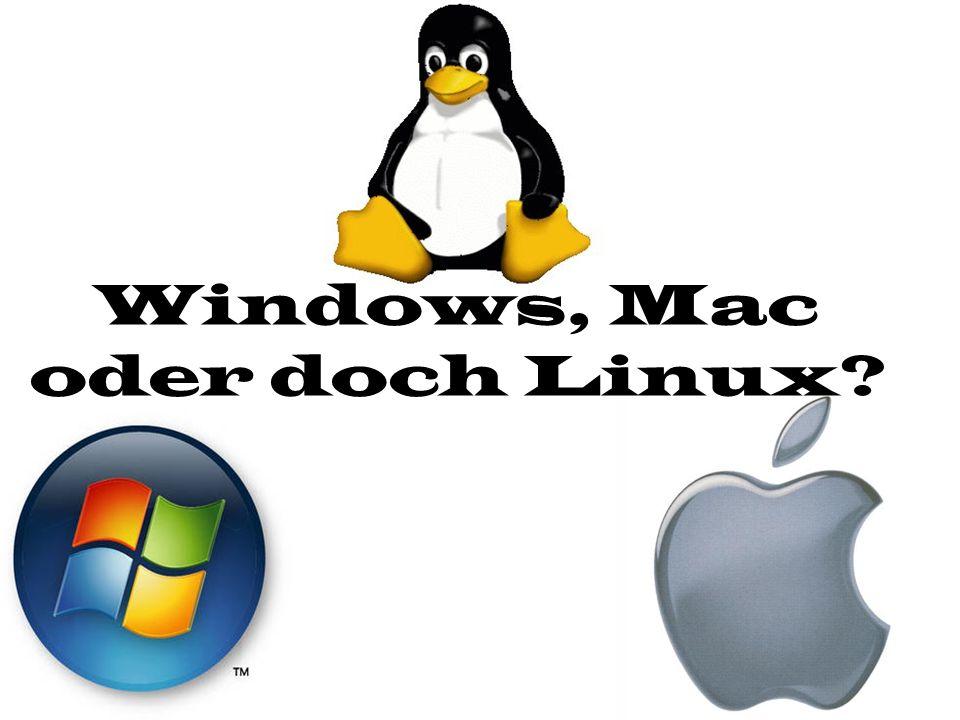 Inhaltsverzeichnis 1.Was ist ein Betriebssystem.