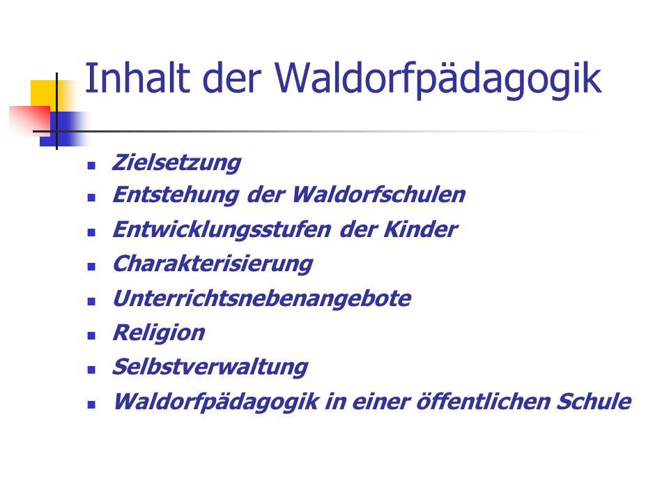 Fixpunkte des Lehrplans - Ackerbauepoche (3.Schulstufe) - Gartenbau (6.-10.
