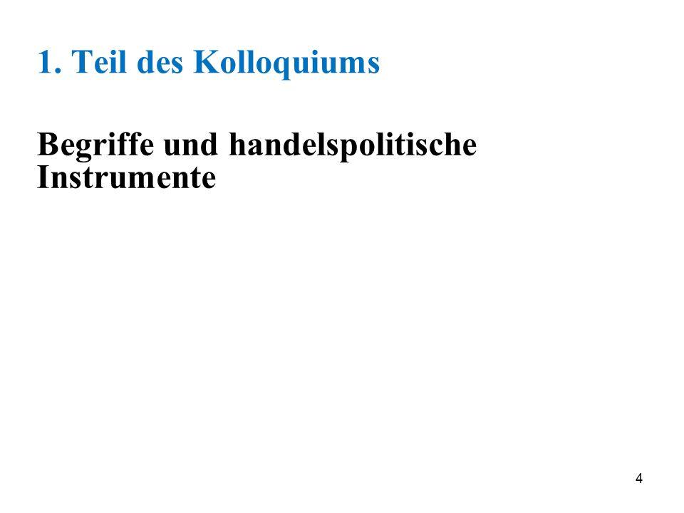 85 Begriffliche Abgrenzung der Integrations- abkommen (Freihandelsabkommen) Internationale Handelsabkommen MultilateralesRegionale Freihandelsabkommen HandelsabkommenReg.