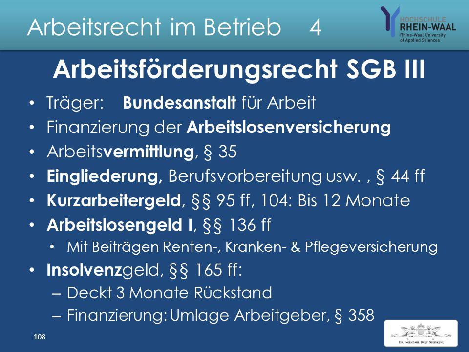 Arbeitsrecht im Betrieb 4 Arbeitslosengeld II / Harz IV Bedarfsorientiert: Niedrigere Sätze & strengere Regeln: Unterhalt in Bedarfsgemeinschaften: –
