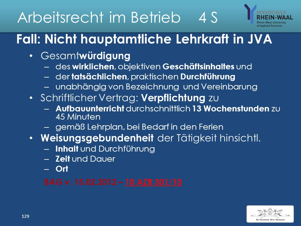 Arbeitsrecht im Betrieb 4 S Statusfeststellung AN/ Gewerbe Auf Antrag AG/AN, § 7 a SGB IV: Statusfest- stellung durch Bescheid des Rentenver- sicherun