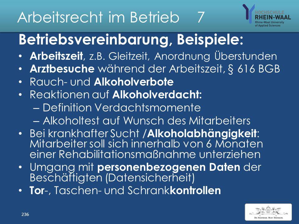 Arbeitsrecht im Betrieb 7 Betriebsvereinbarungen, § 77 Tarifverträge: Vorrang + Sperr wirkung, Abs. 3: – BR hat Regelungsbefugnis wie Tarifparteien –
