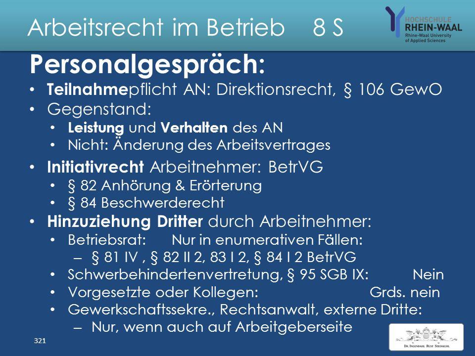 Arbeitsrecht im Betrieb 8 S Fall: Stufenaufstieg bei Elternzeit Der Tarifvertrag der Deutschen Telecom knüpft den Aufstieg in die nächste Gehaltsstufe