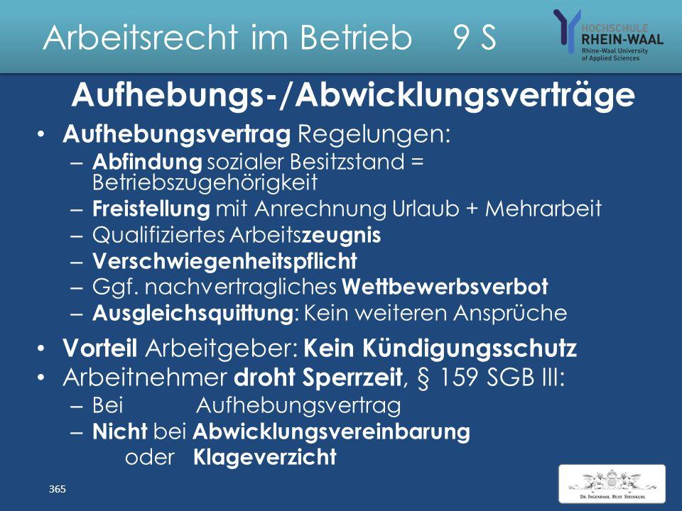 Arbeitsrecht im Betrieb 9 S Private IT – Nutzung: Verbot/BV E- Mails: Sicherheit Datenübertragung, Trojaner Sicherung Schutz Privatsphäre – (Mit-) Les