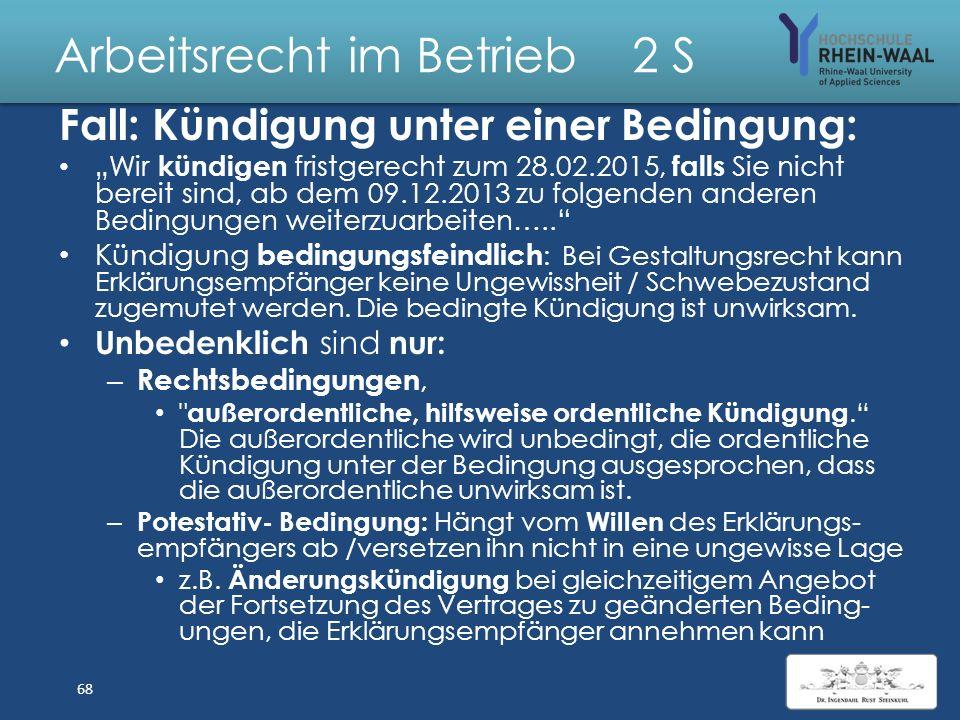 Arbeitsrecht im Betrieb 2 S Lösung: BER - Chefplaner 1. Kündigung : Außerordentlich, § 626 BGB 2.Anfechtung des Arbeitsvertrage wg. 1.Arglistiger Täus