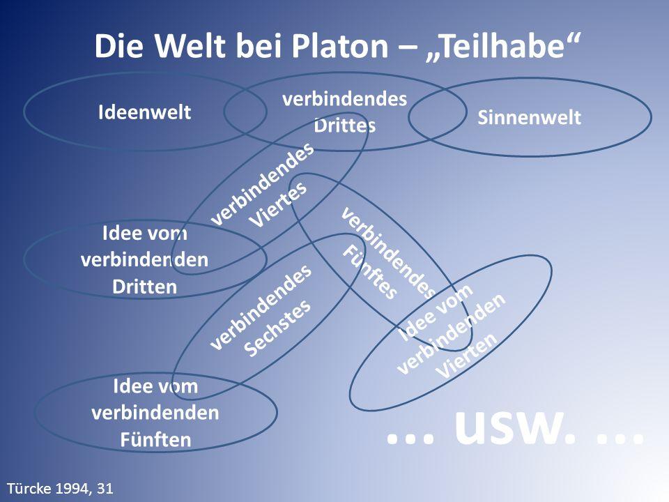 Ideenwelt Sinnenwelt Idee vom verbindenden Dritten verbindendes Drittes verbindendes Fünftes Idee vom verbindenden Vierten verbindendes Viertes Idee v
