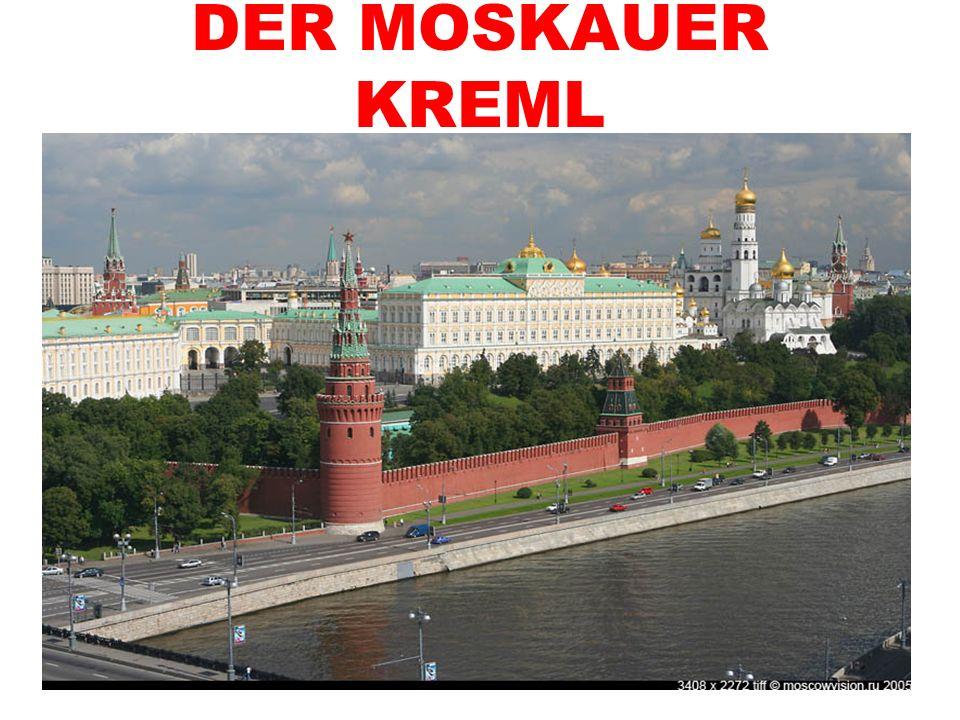 Der Moskauer Kreml ist das historische Zentrum der russischen Hauptstadt.
