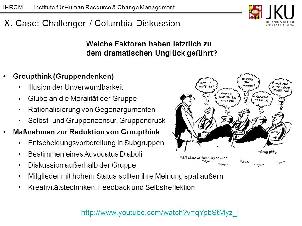 IHRCM - Institute für Human Resource & Change Management 48 8.