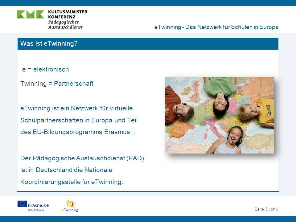 Seite 14 von x Inspirationen aus der Praxis nutzen eTwinning - Das Netzwerk für Schulen in Europa Erfahrungen anderer eTwinner als Inspiration für den Unterricht nutzen:  Projektkits mit ausführlicher Verlaufsbeschreibung helfen Ihnen, Ideen für eigene eTwinning-Projekte zu entwickeln.