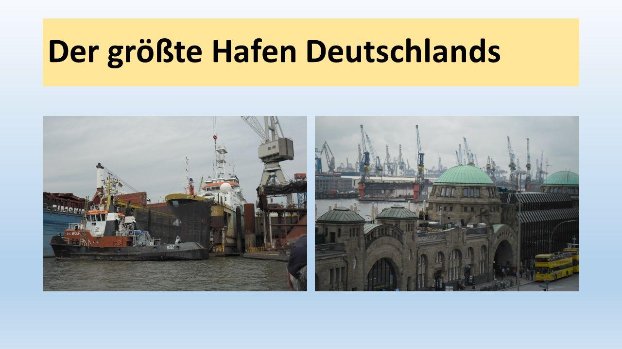 Der größte Hafen Deutschlands
