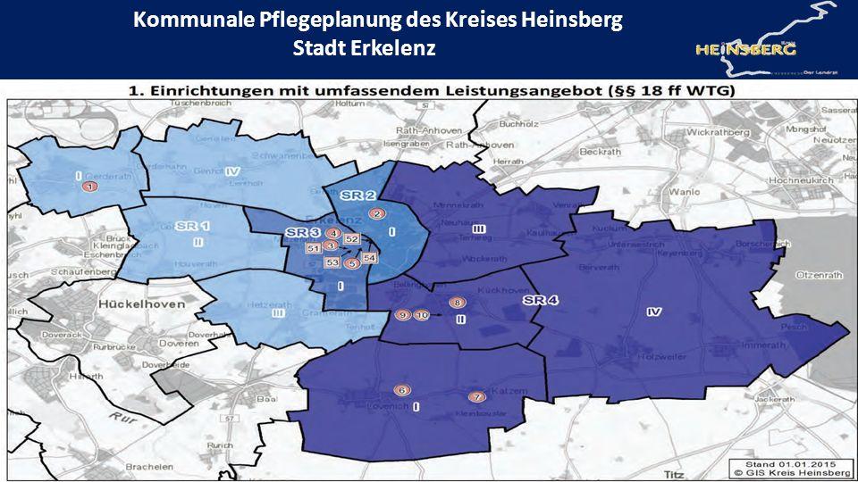 Kommunale Pflegeplanung des Kreises Heinsberg Stadt Erkelenz