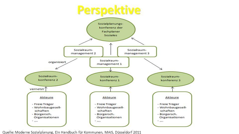 24 Perspektive Perspektive Quelle: Moderne Sozialplanung, Ein Handbuch für Kommunen, MAIS, Düsseldorf 2011