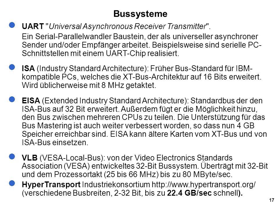 17 Bussysteme UART
