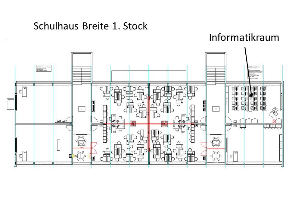 Schulhaus Breite 1. Stock Informatikraum