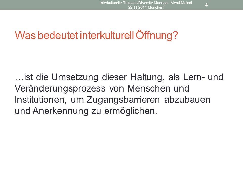 Was bedeutet interkulturell Öffnung.