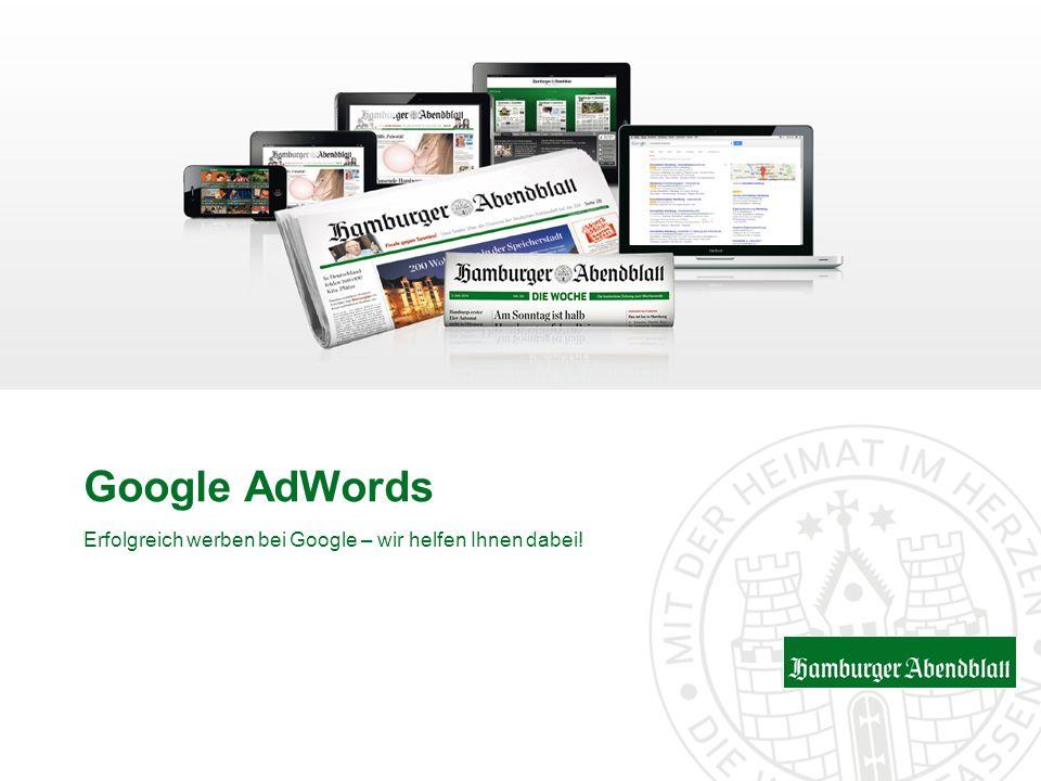 Google AdWords Erfolgreich werben bei Google – wir helfen Ihnen dabei!