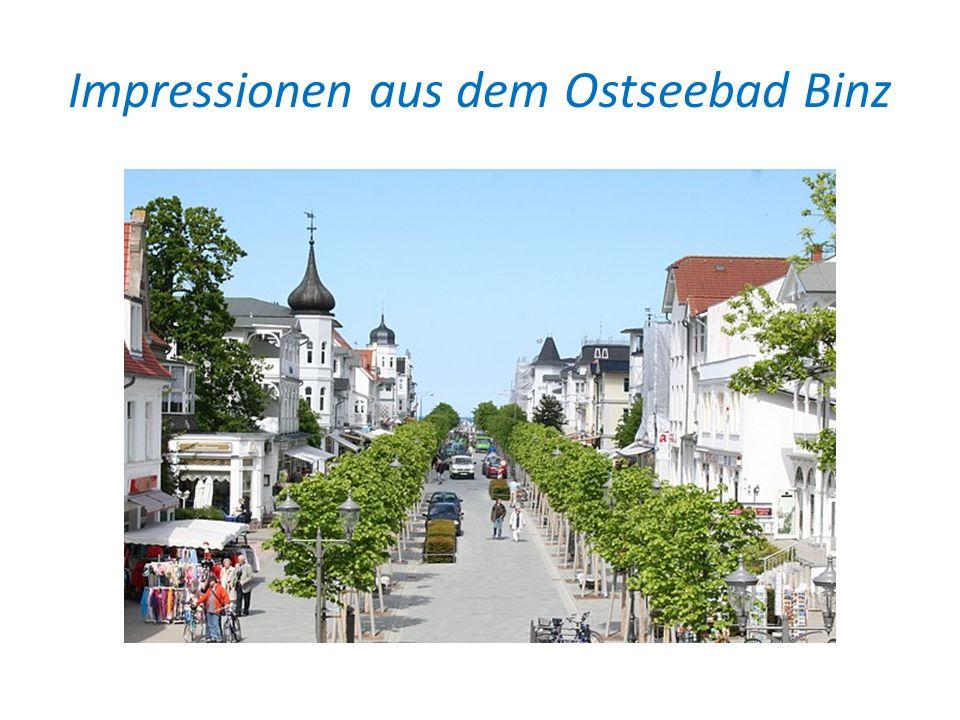 Impressionen aus dem Ostseebad Binz