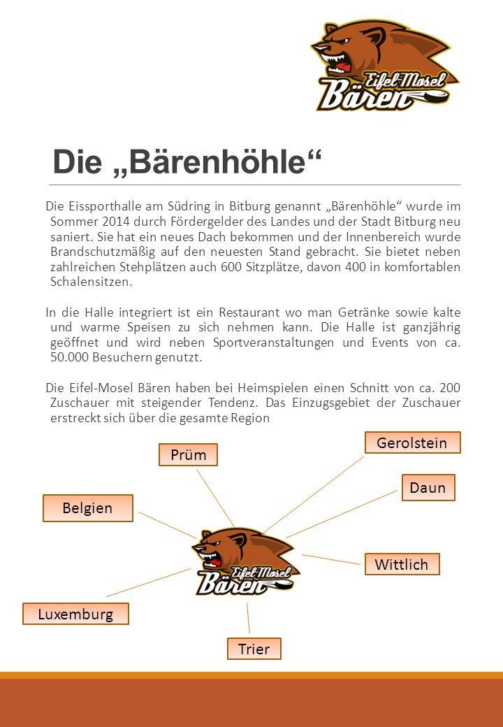 """Die """"Bärenhöhle Die Eissporthalle am Südring in Bitburg genannt """"Bärenhöhle wurde im Sommer 2014 durch Fördergelder des Landes und der Stadt Bitburg neu saniert."""