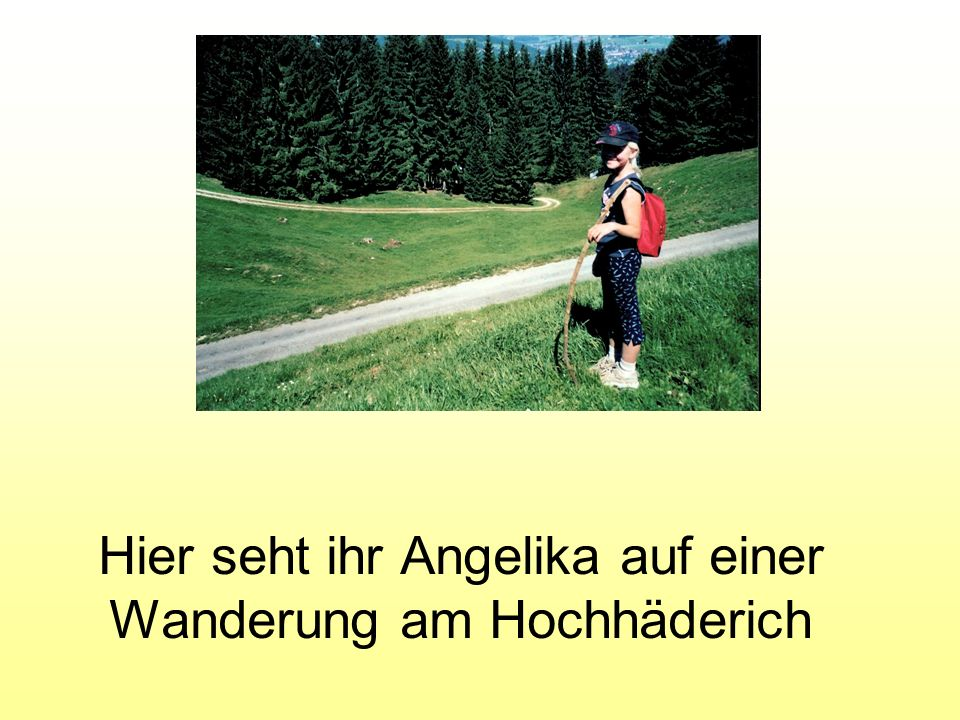 genannt: Angi von: Maria Hauser