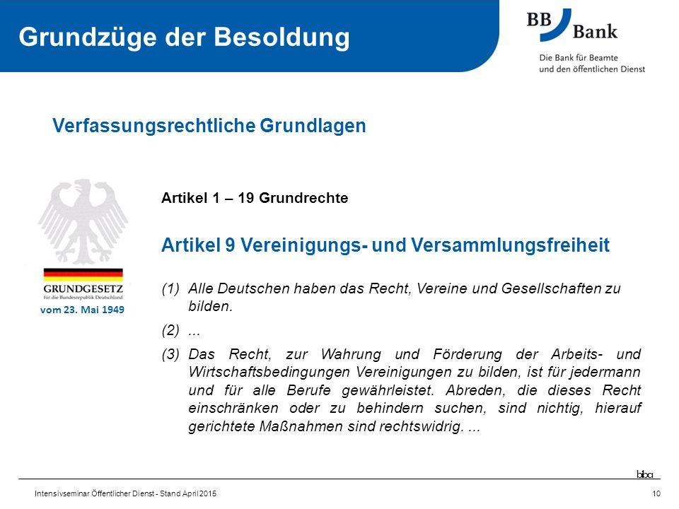 Artikel 1 – 19 Grundrechte Artikel 9 Vereinigungs- und Versammlungsfreiheit (1)Alle Deutschen haben das Recht, Vereine und Gesellschaften zu bilden.
