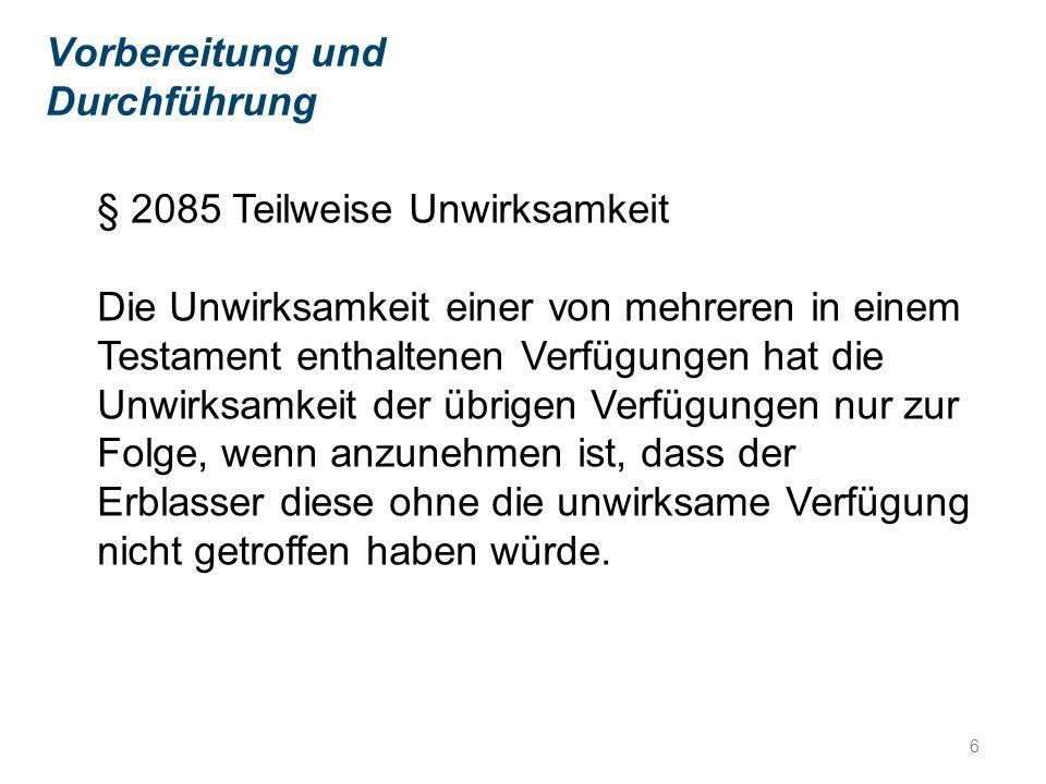 Das Problem mit dem Berliner Testament Häufig verwechselt mit den Begriffen: befreiter Vorerbe, oder Nacherben.