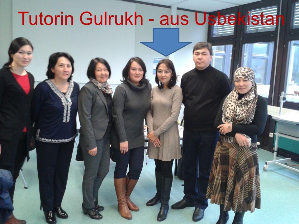 Tutorin Gulrukh - aus Usbekistan