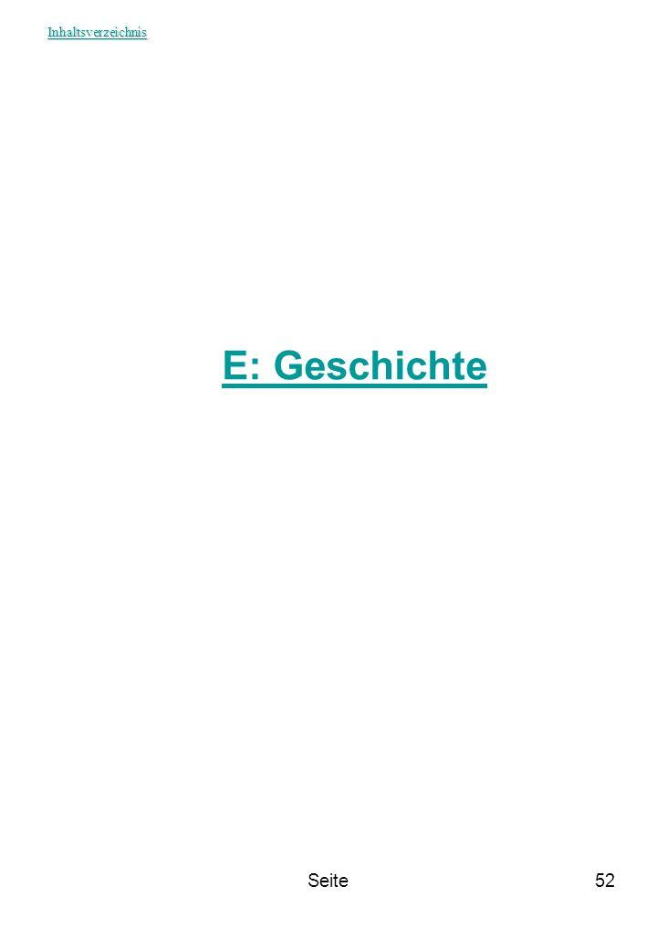 Seite52 E: Geschichte Inhaltsverzeichnis