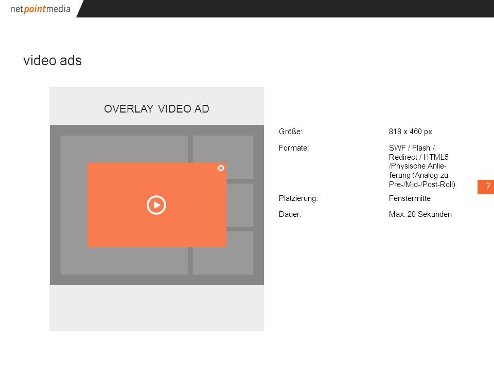v video ads CONTENT SPLIT VIDEO AD ??.