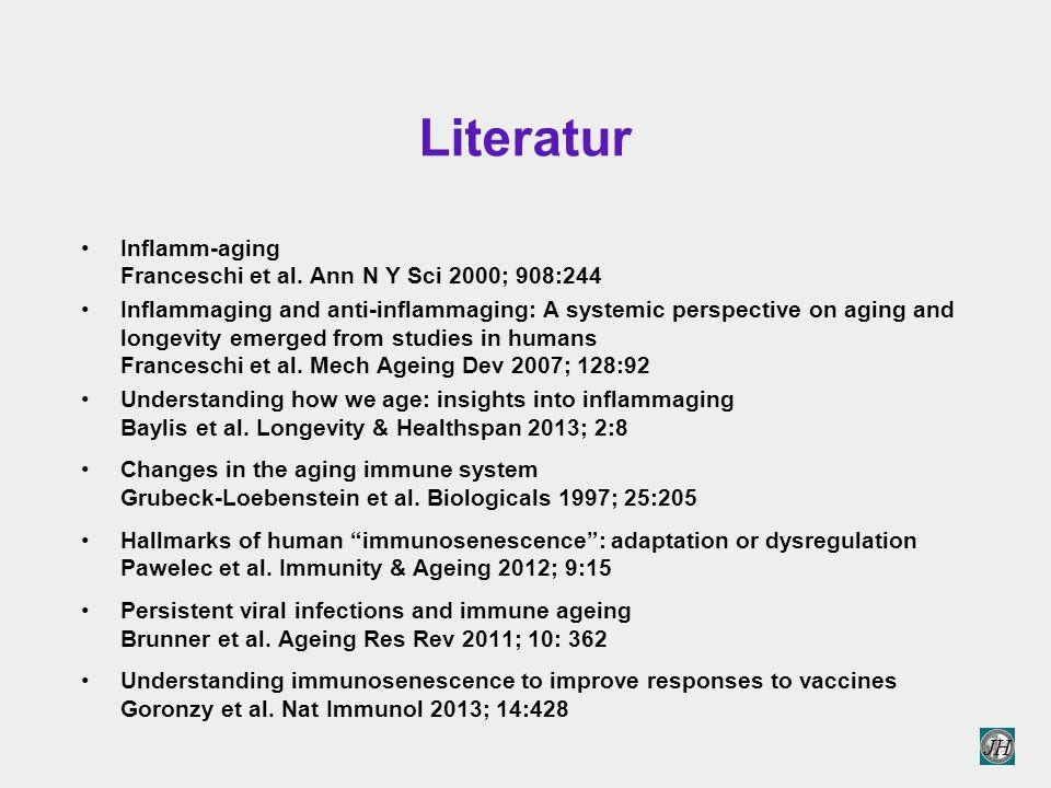 JH Literatur Inflamm-aging Franceschi et al.