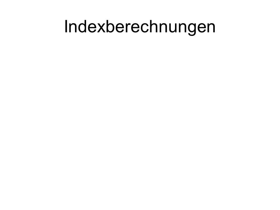 Indexberechnungen