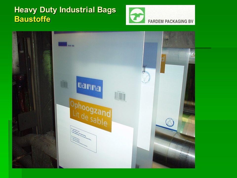 Heavy Duty Industrial Bags Baustoffe