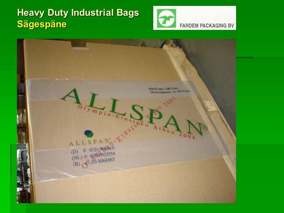 Heavy Duty Industrial Bags Sägespäne