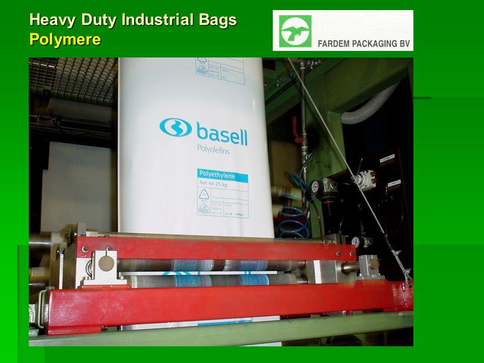 Heavy Duty Industrial Bags Innovationen des Maschinenparks