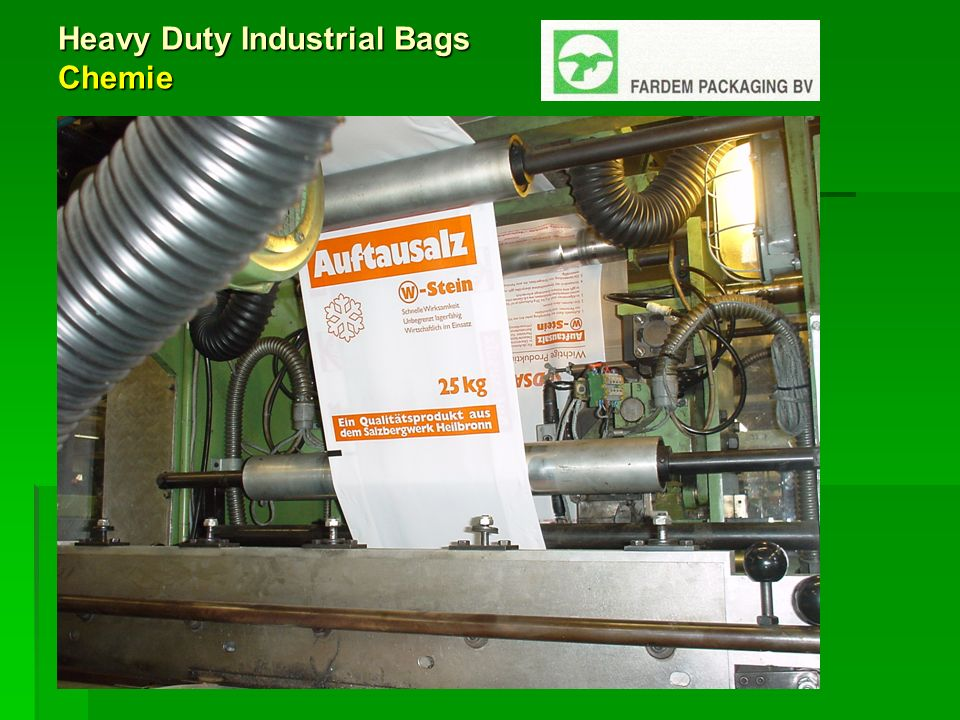 Heavy Duty Industrial Bags Chemie