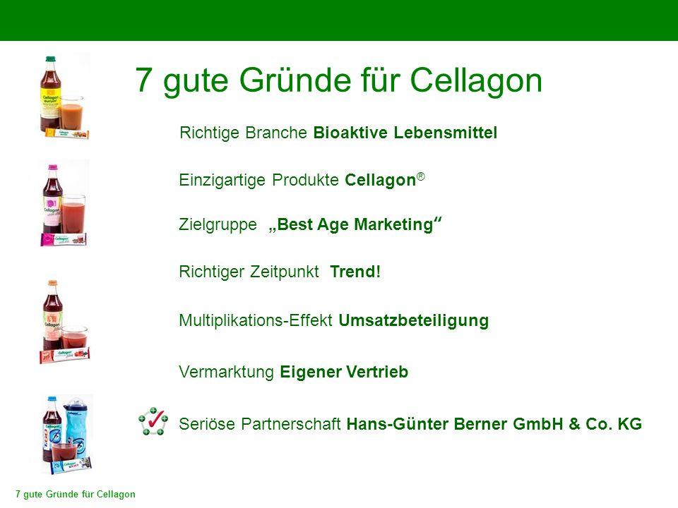 """Richtiger Zeitpunkt Trend! Zielgruppe """"Best Age Marketing"""" Seriöse Partnerschaft Hans-Günter Berner GmbH & Co. KG Multiplikations-Effekt Umsatzbeteili"""