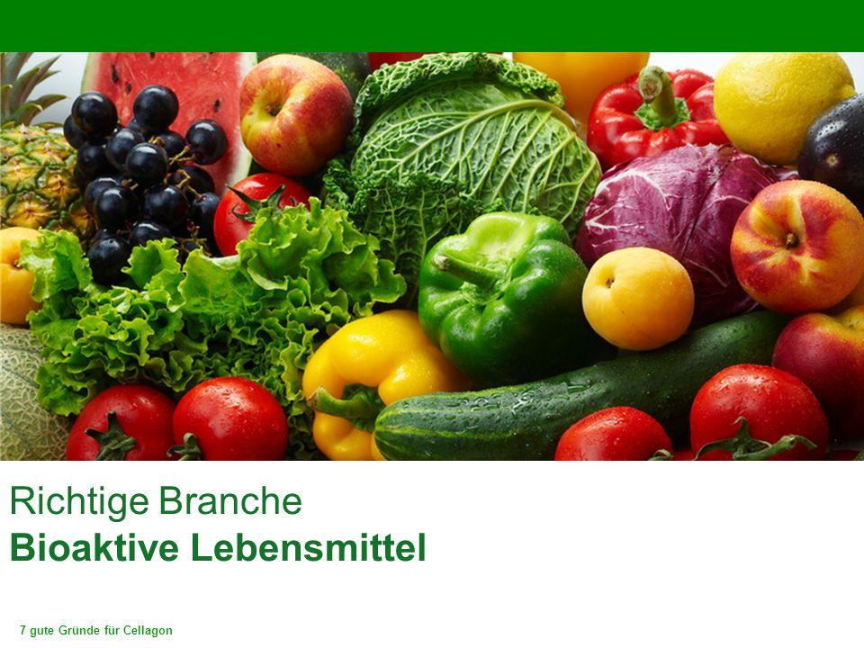 7 gute Gründe für Cellagon Richtige Branche Bioaktive Lebensmittel