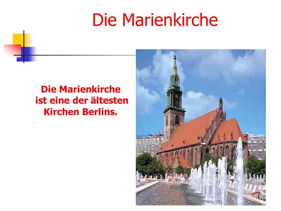 Die Marienkirche ist eine der ältesten Kirchen Berlins.