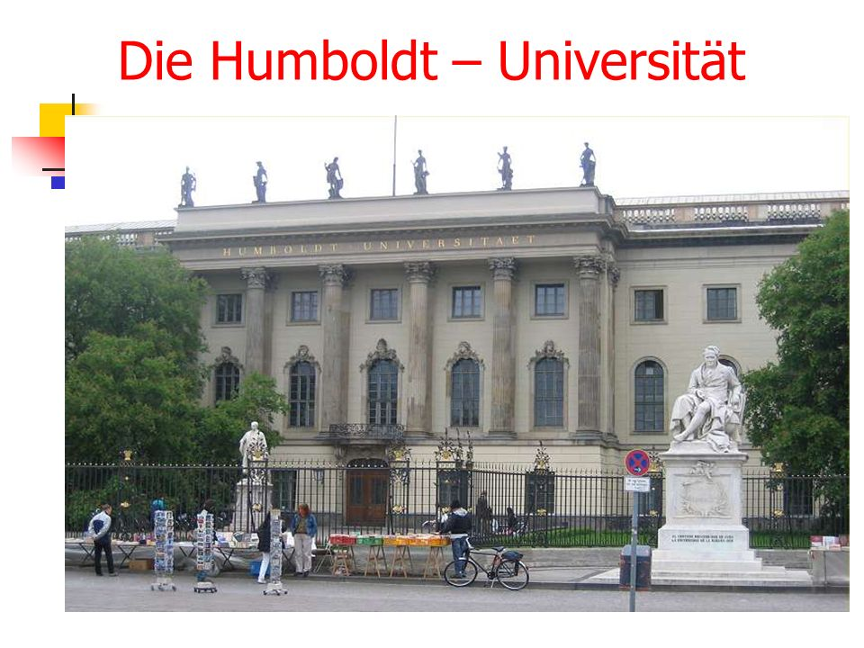 Die Humboldt – Universität