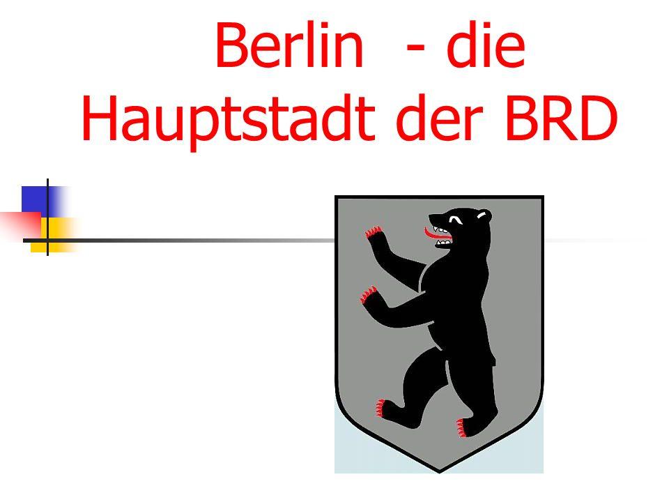 Der Bär ist das Symbol Berlins