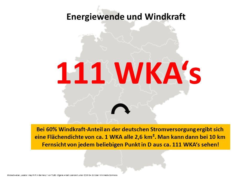 """111 WKA's Energiewende und Windkraft Bildnachweise: """"Locator map RVR in Germany"""" von TUBS - Eigene Arbeit Lizenziert unter CC BY-SA 3.0 über Wikimedia"""